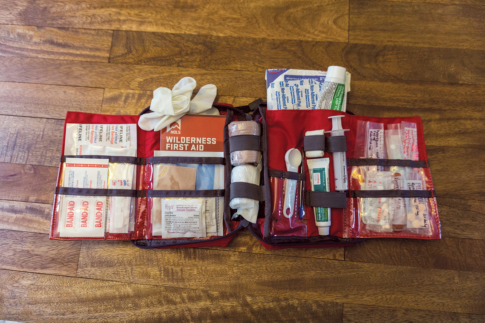 Ten Essentials: first aid