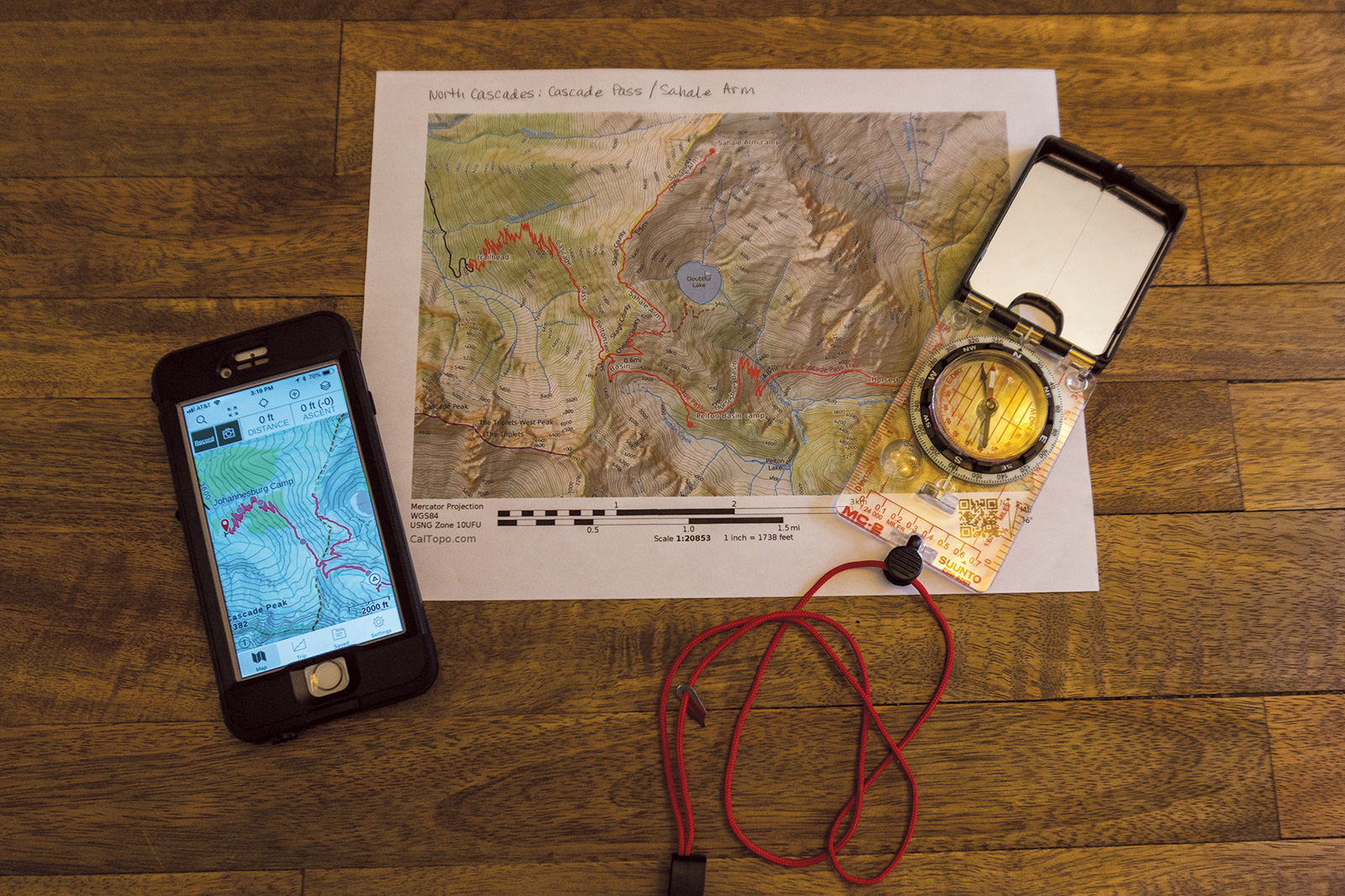 Ten Essentials: navigation