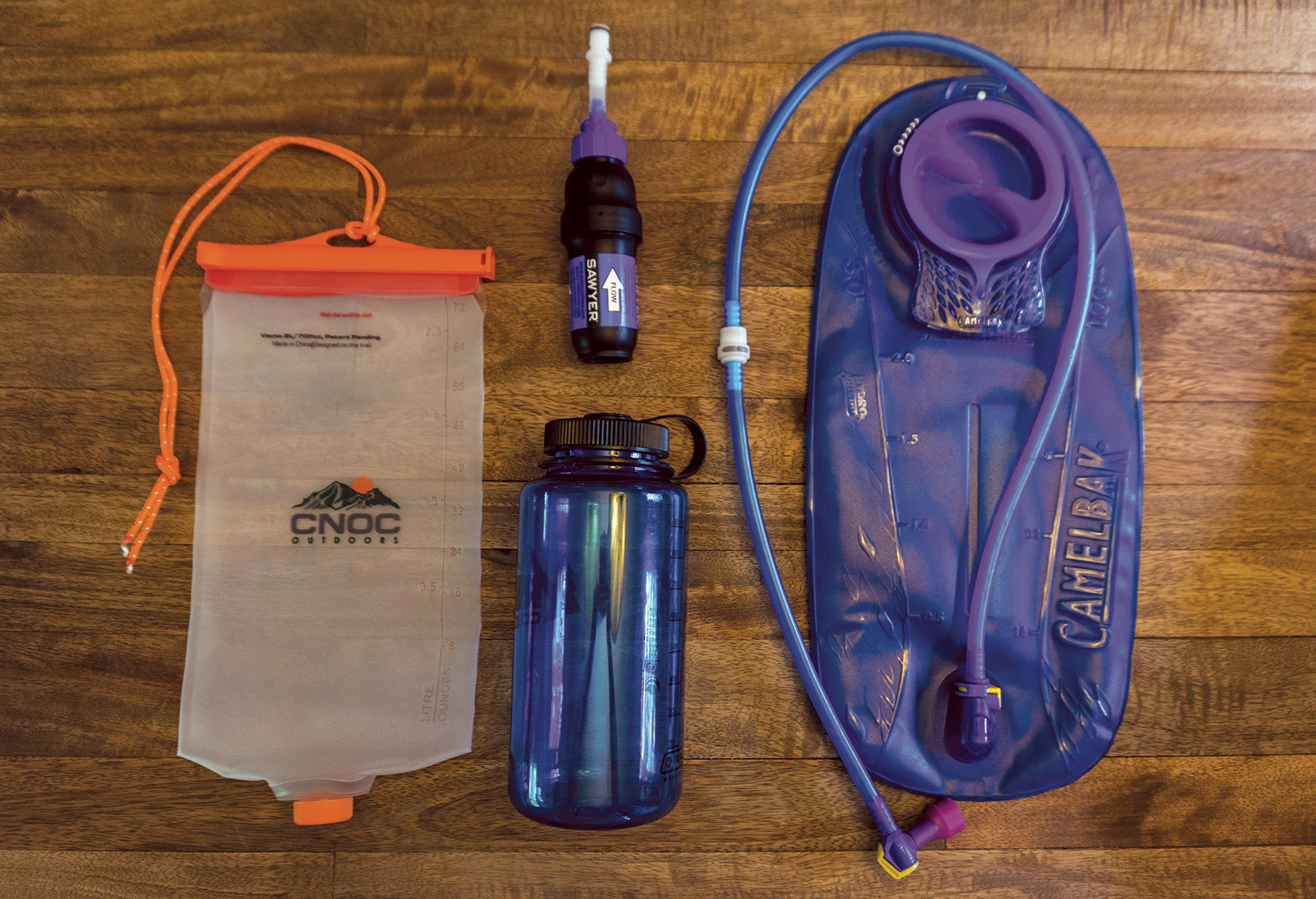 Ten Essentials: extra water