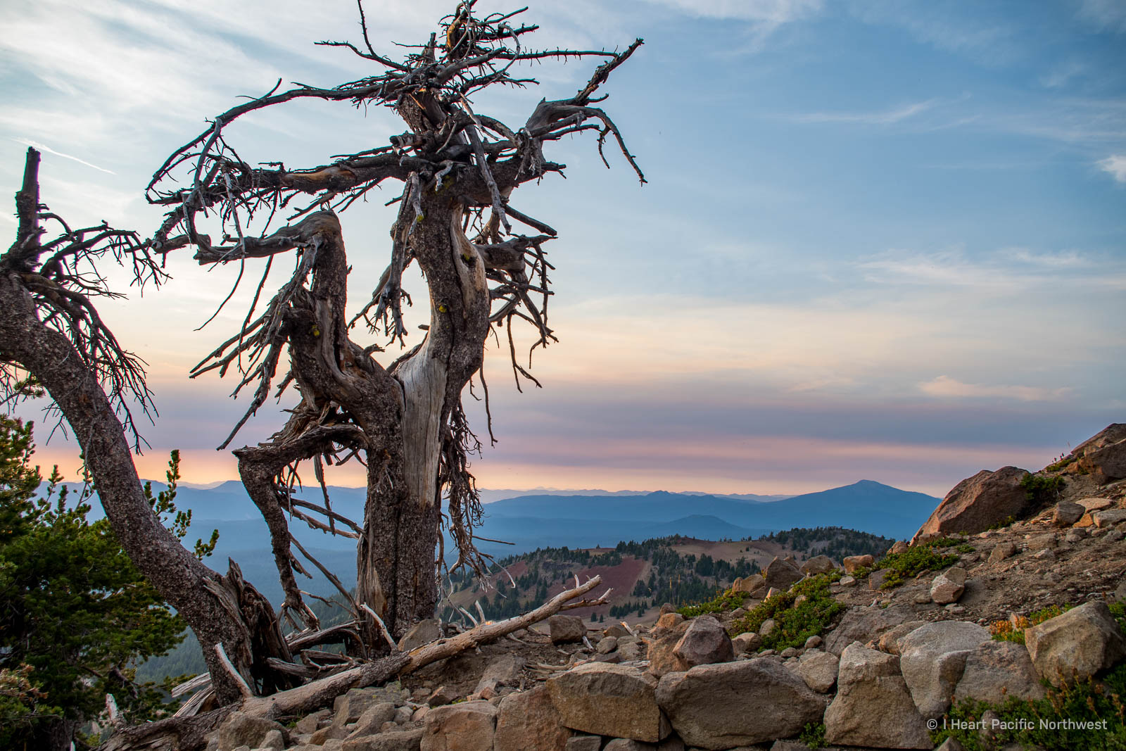 Crater Lake - The Watchman hike