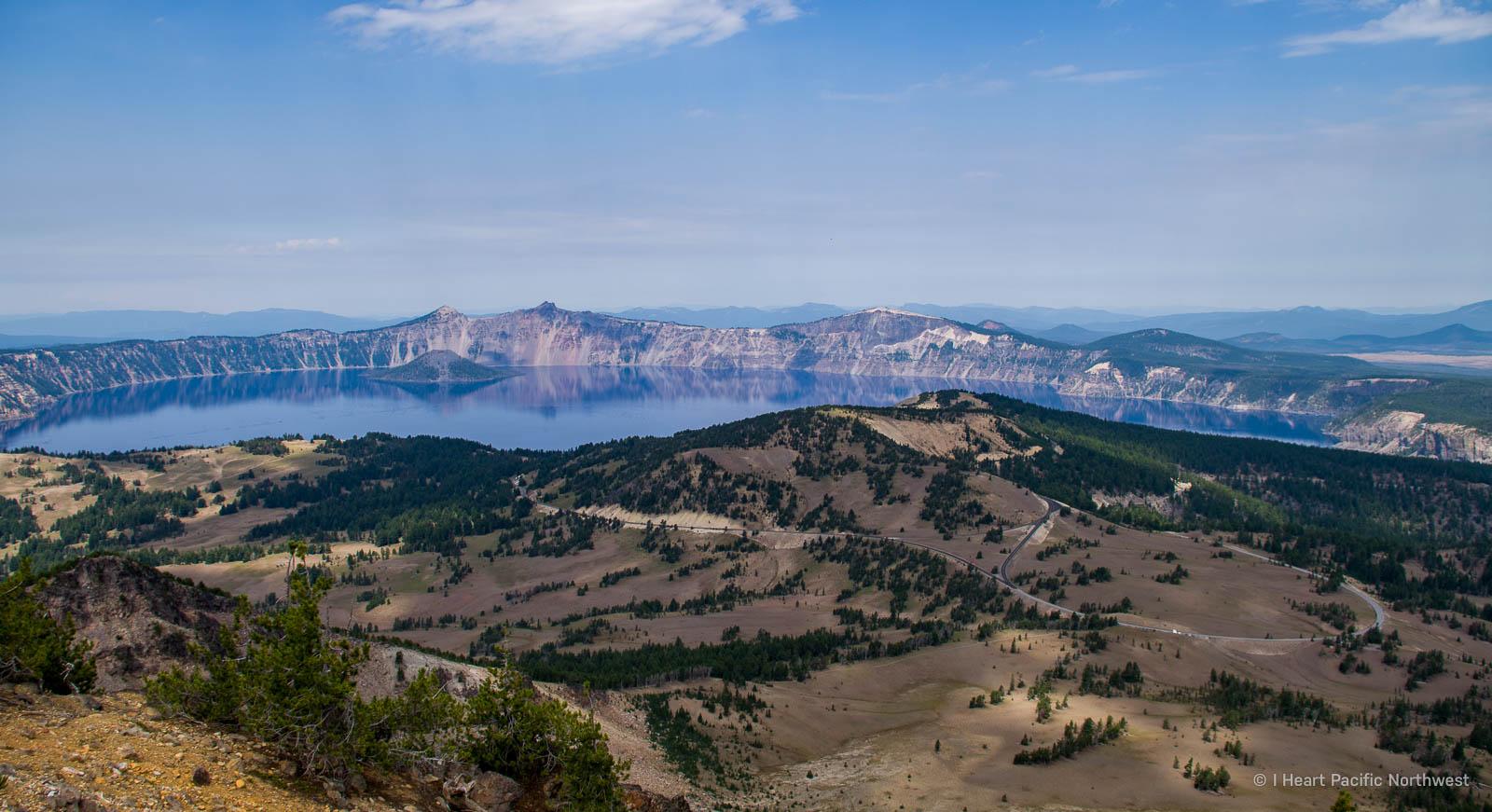 Crater Lake - Mount Scott hike