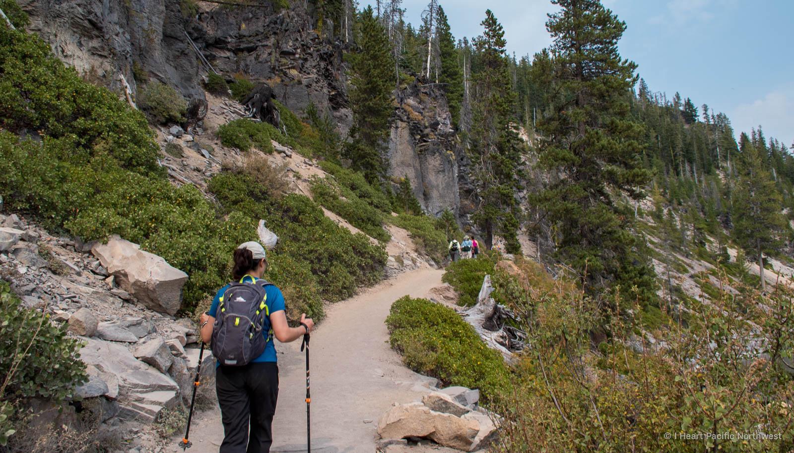 Crater Lake - Cleetwood Cove hike