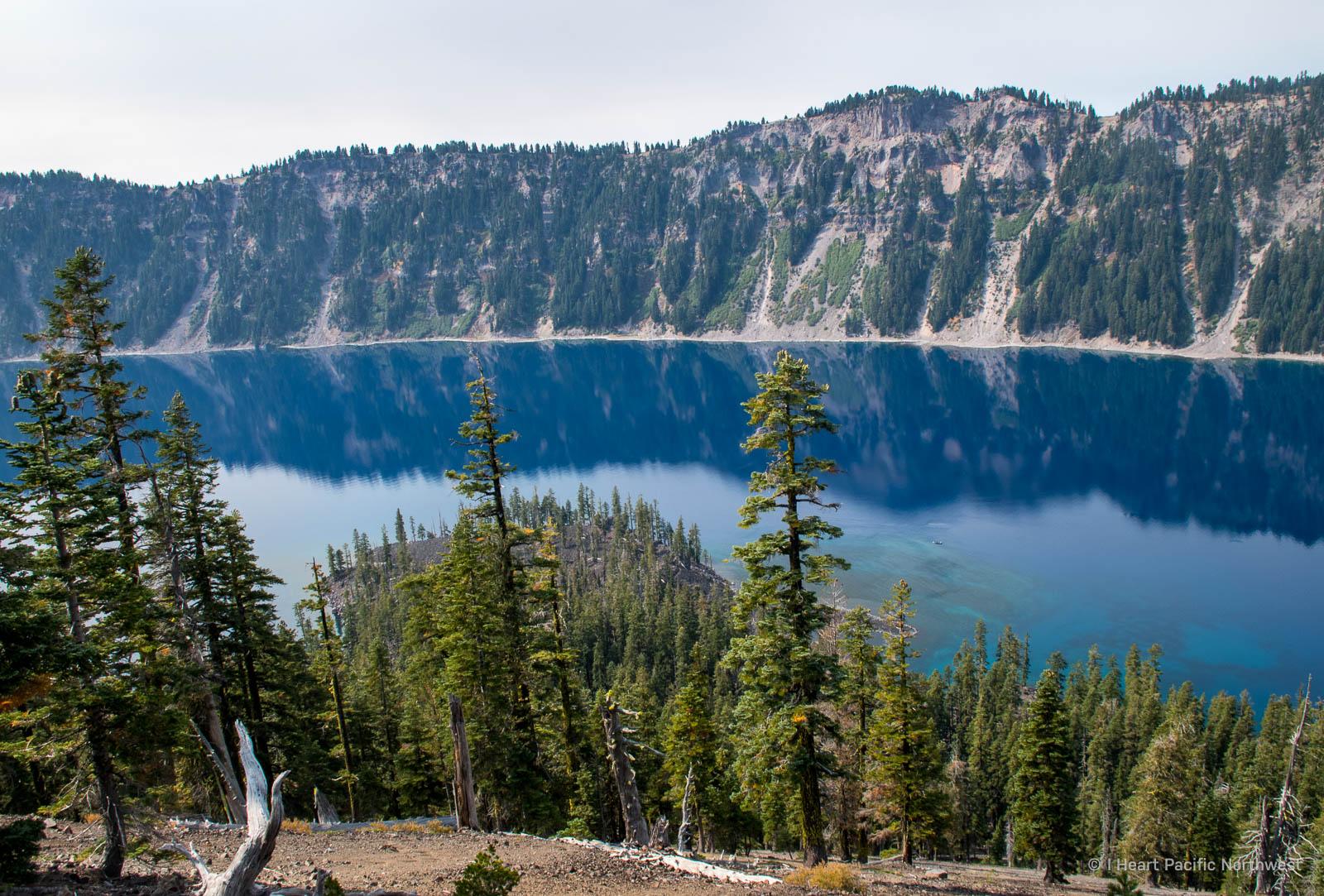 Crater Lake - Wizard Island hike