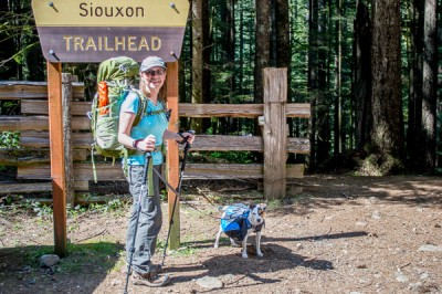 Siouxon Creek backpacking trip