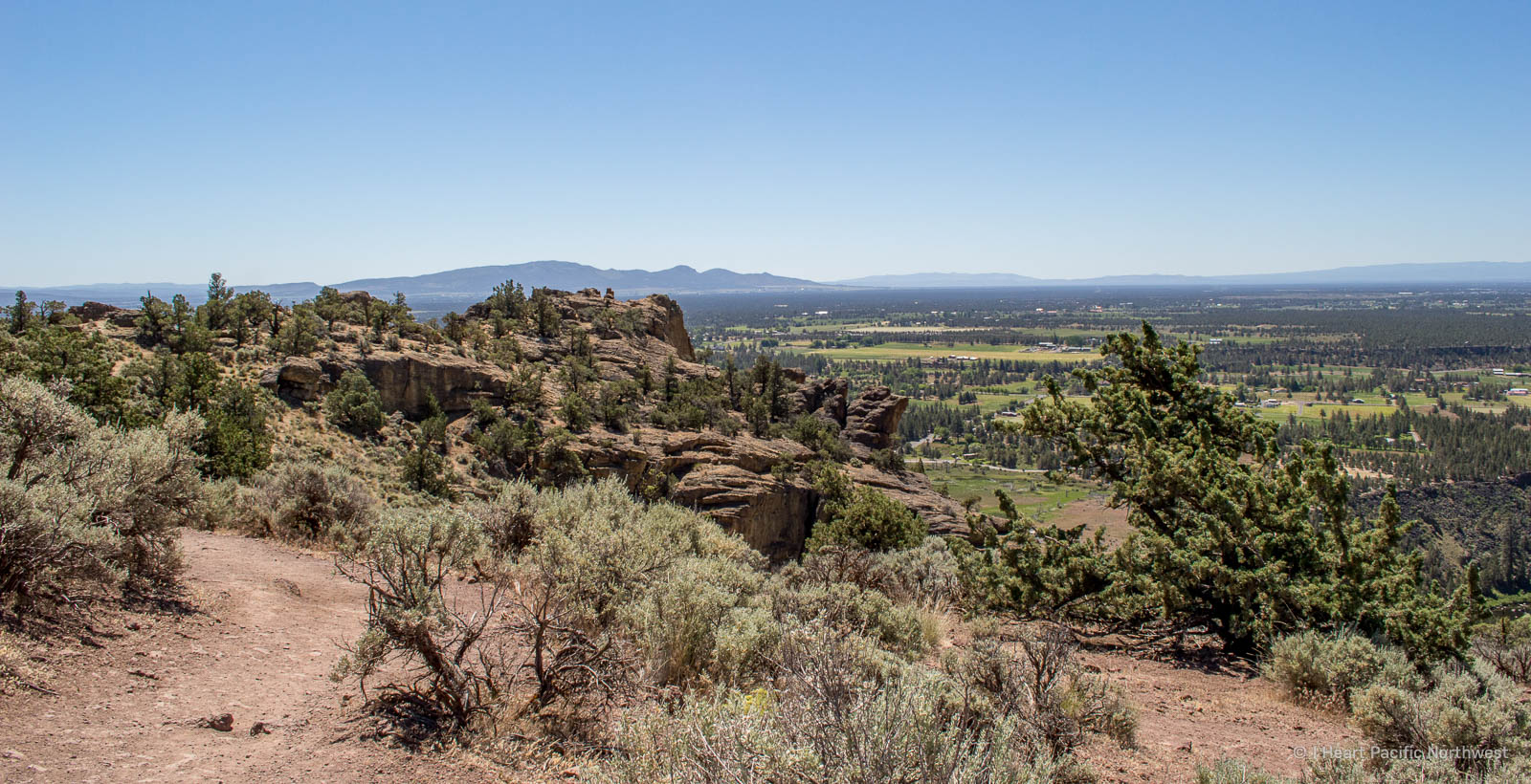 Smith Rock State Park - Misery Ridge loop