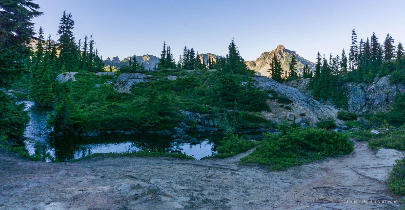 Alpine Lakes Wilderness - Rampart Lakes backpacking trip