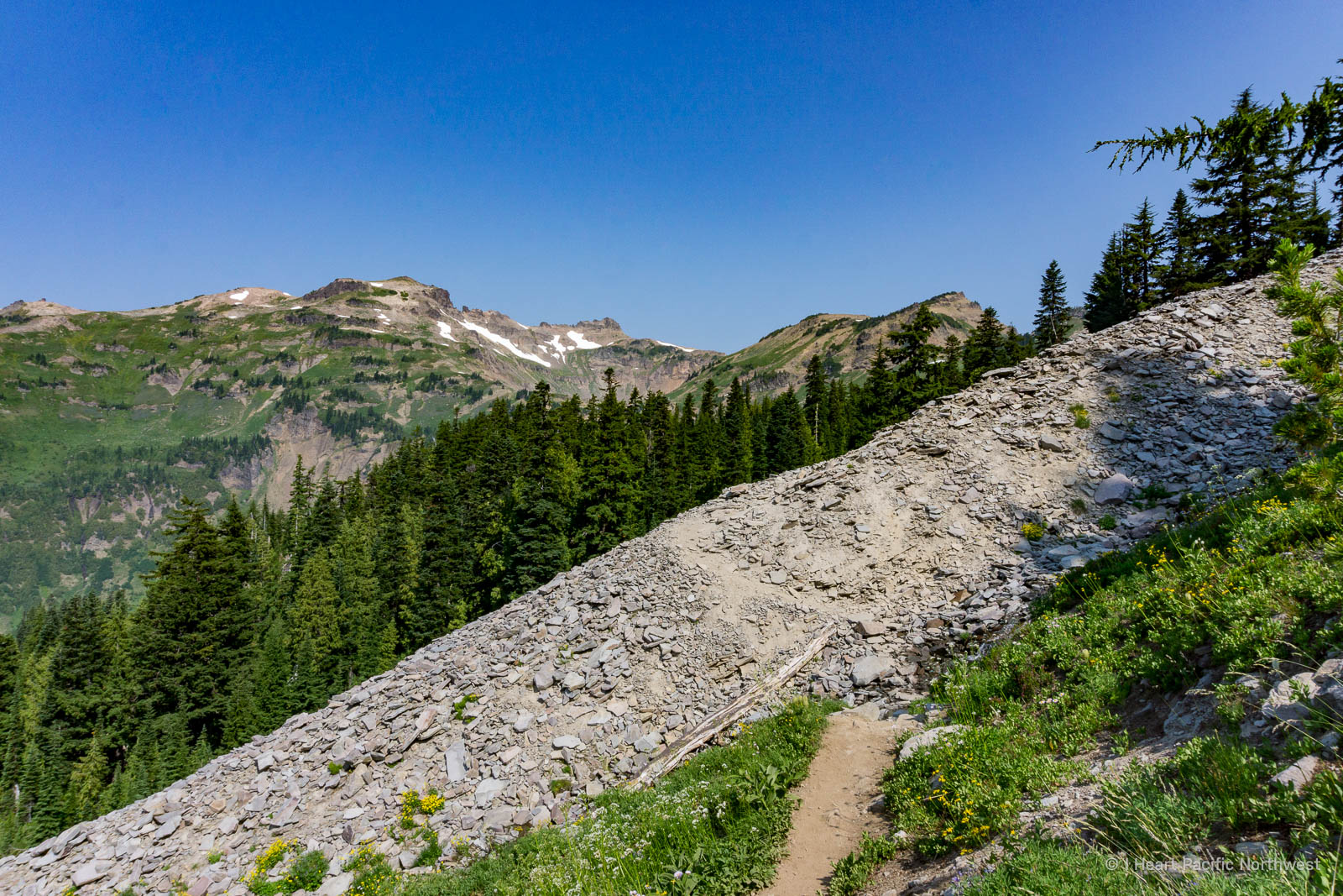 Goat Rocks Wilderness backpacking trip