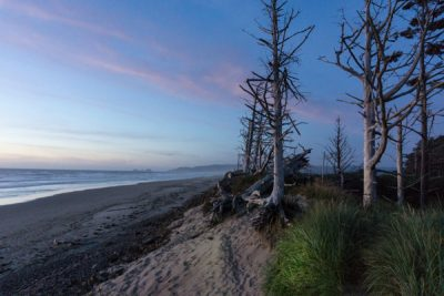 Cape Lookout camping trip