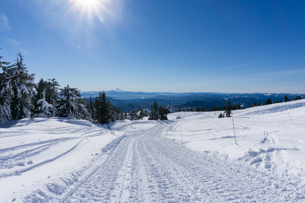 Timberline Lodge snowshoe