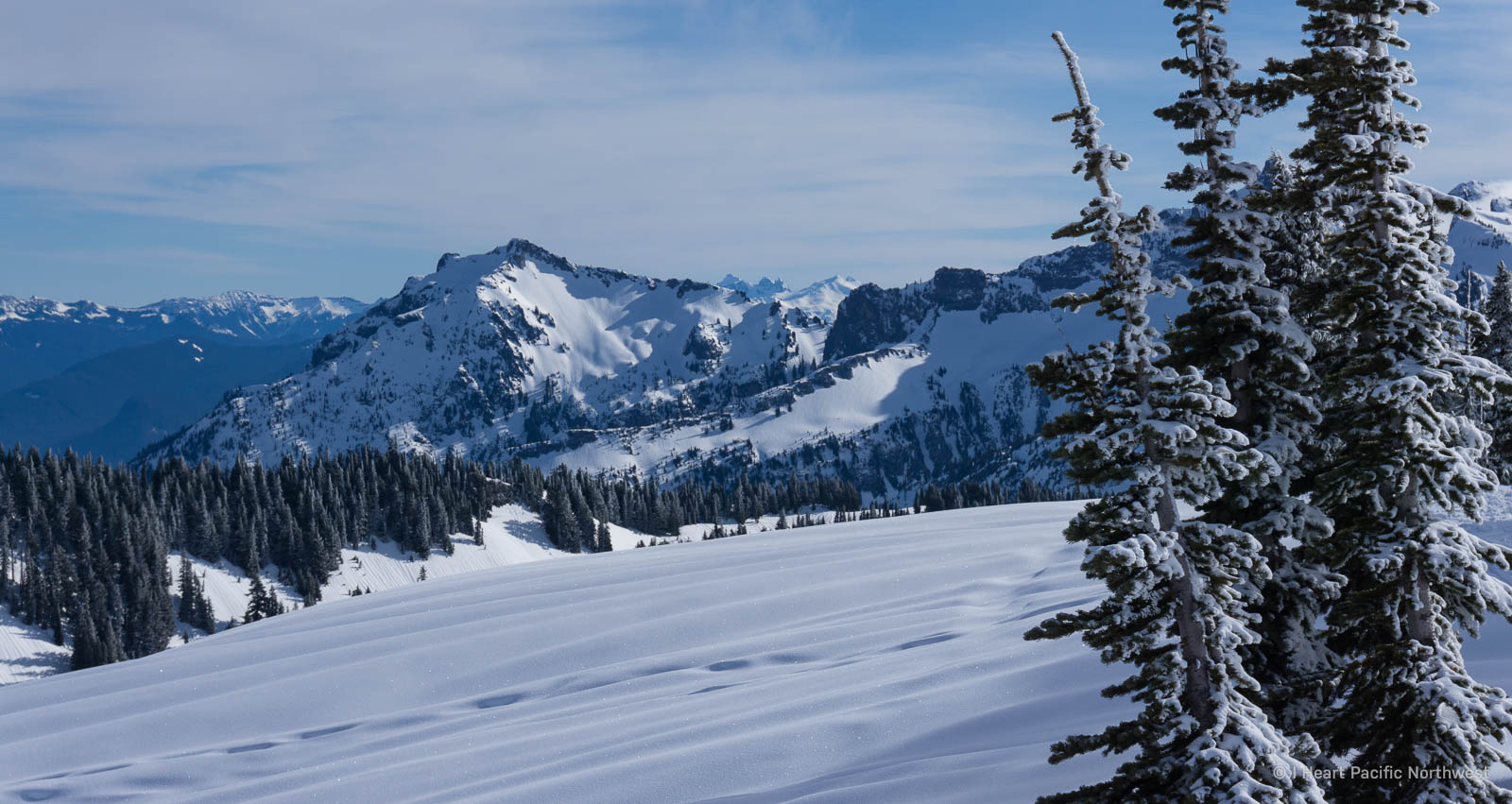 Mount Rainier winter backpacking trip