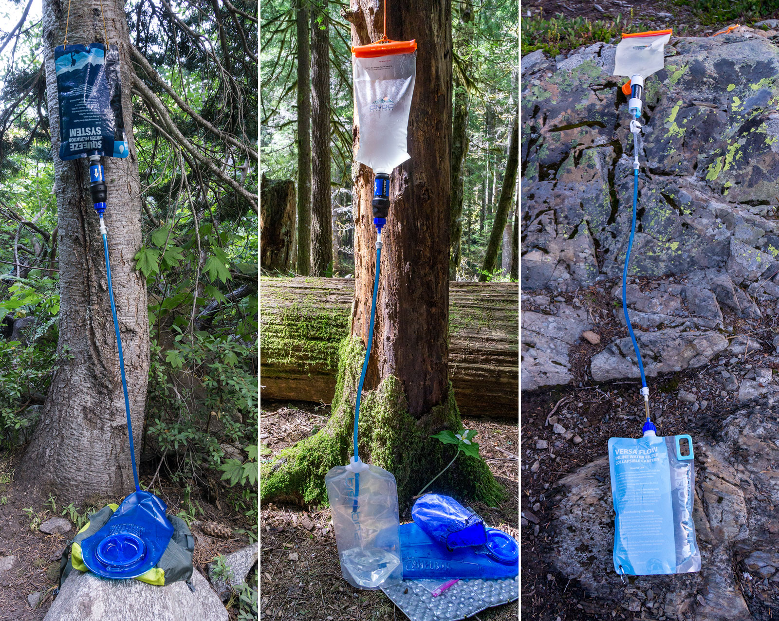 DIY gravity water filter systems