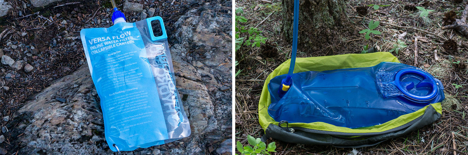 backpacking water storage containers