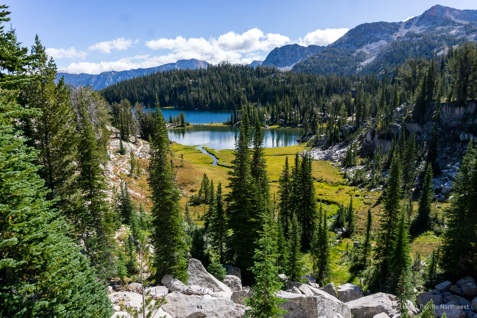Wallowas - Glacier Lake hike