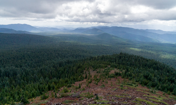 Indian Racetrack and Red Mountain Lookout hike