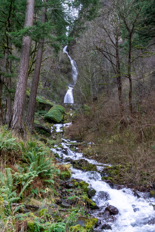 Multnomah-Wahkeena loop hike