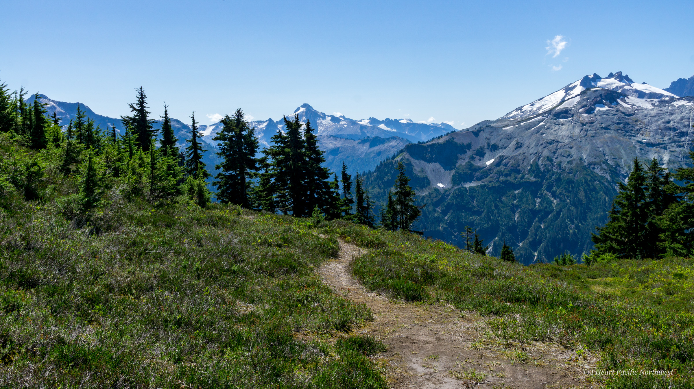 North Cascades: Copper Ridge backpack