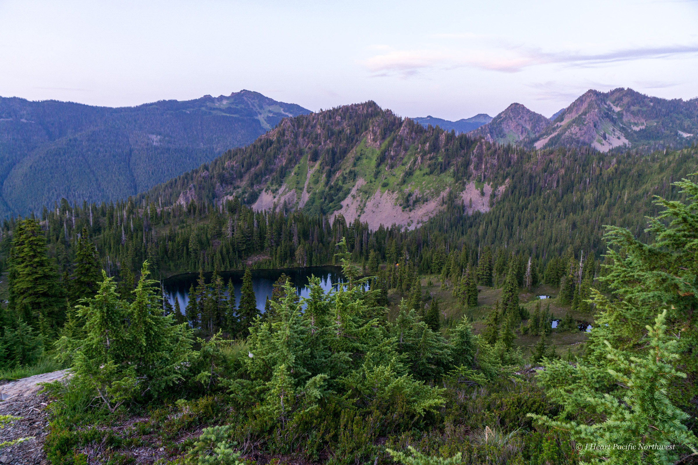 Olympic Mountains - High Divide backpacking trip