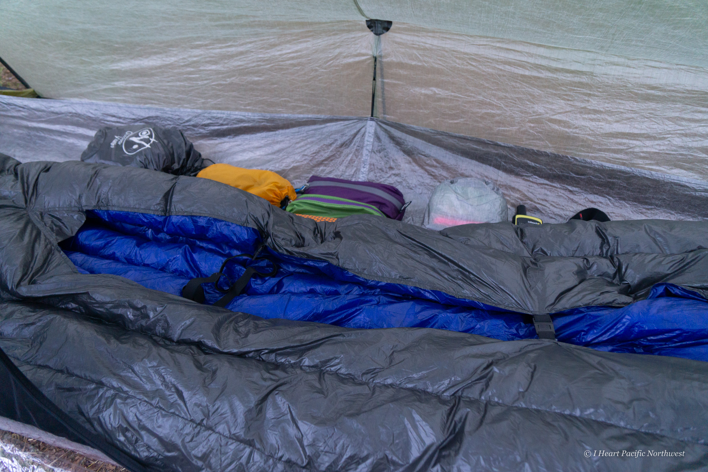 Outdoor Vitals StormLoft backpacking quilt