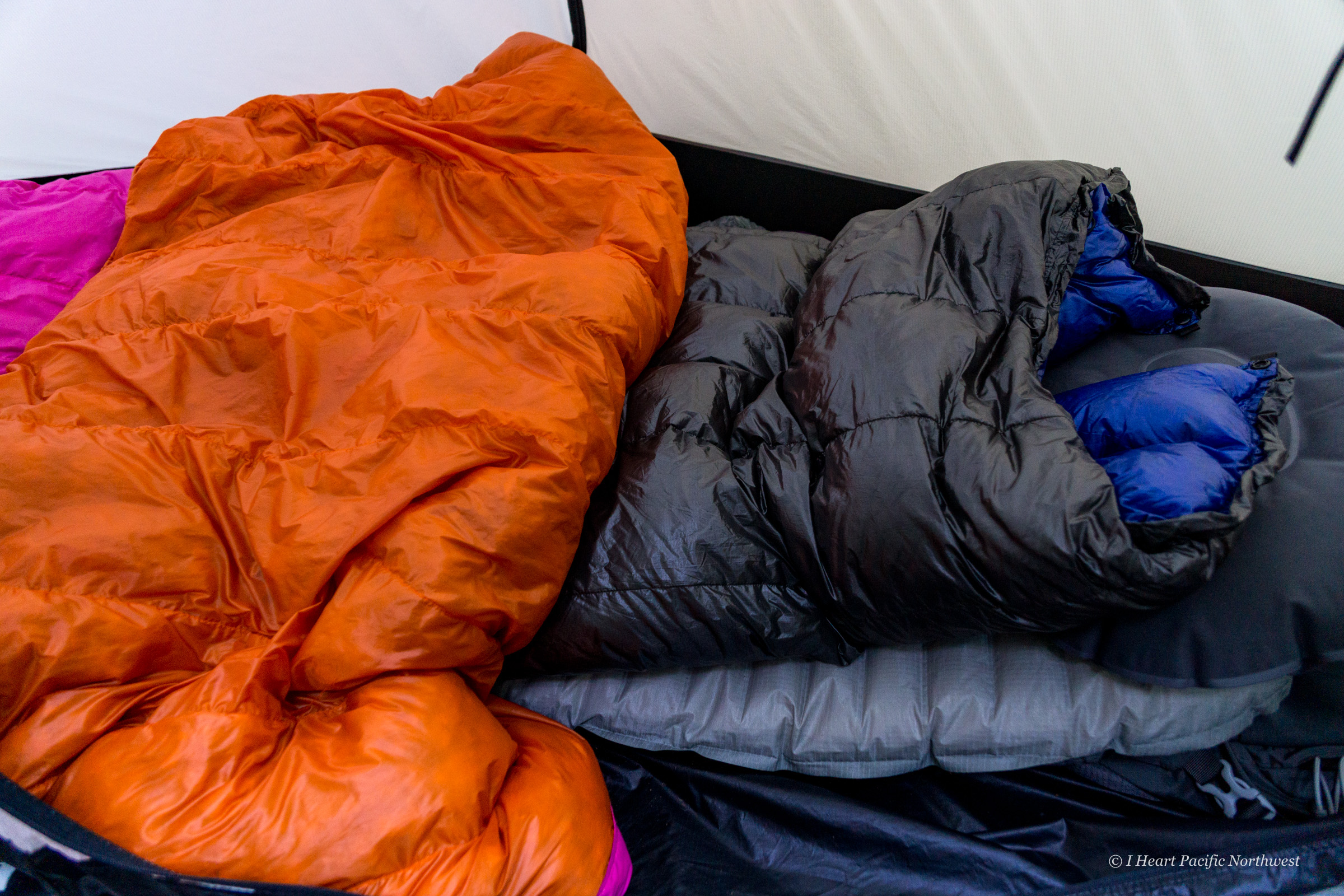 cold weather sleep setup for backpacking