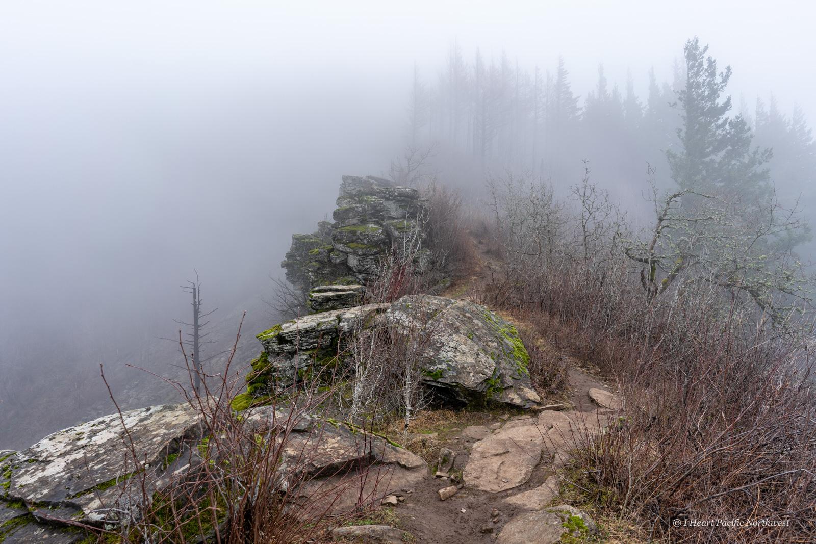 Angels Rest - Devils Rest - Wahkeena Spring loop hike
