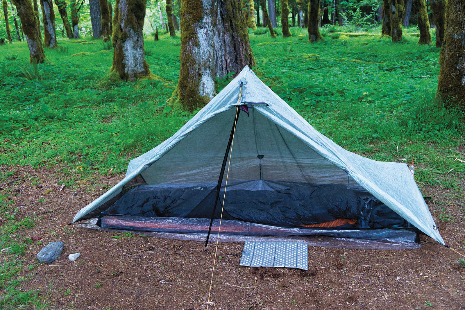 camp on durable surfaces