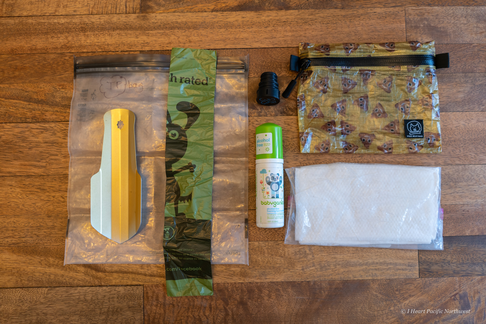 backpacking bathroom kit