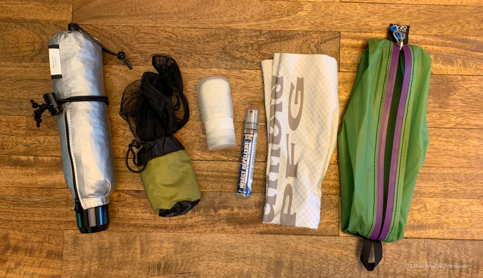 backpacking sun and bug protection