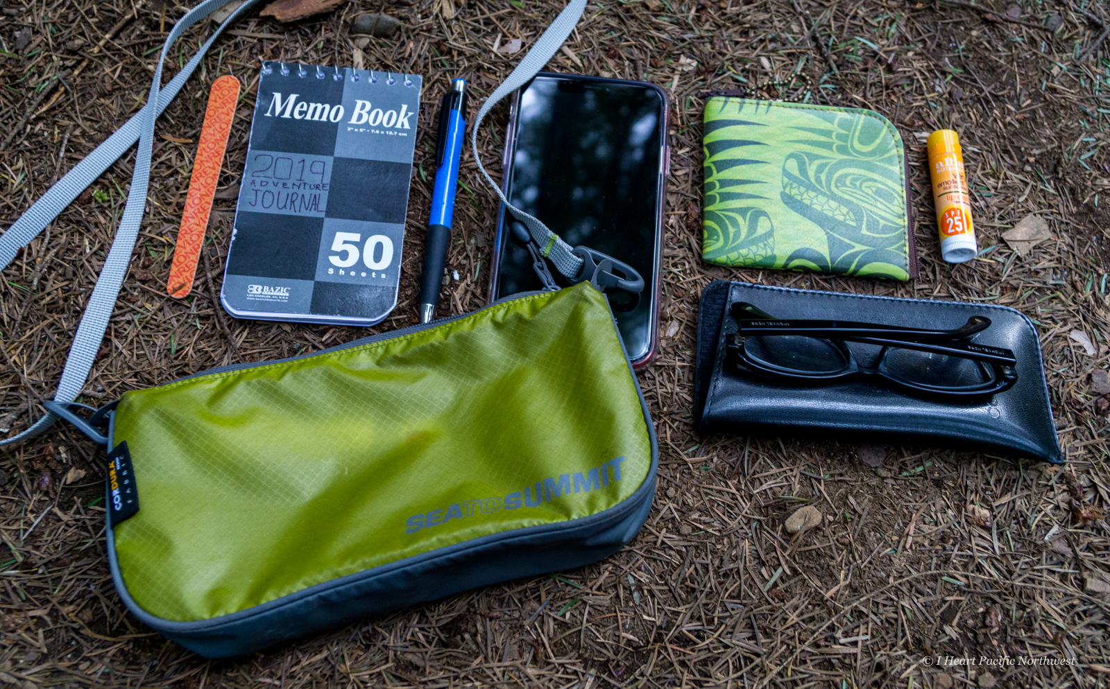 backpacking wallet and purse