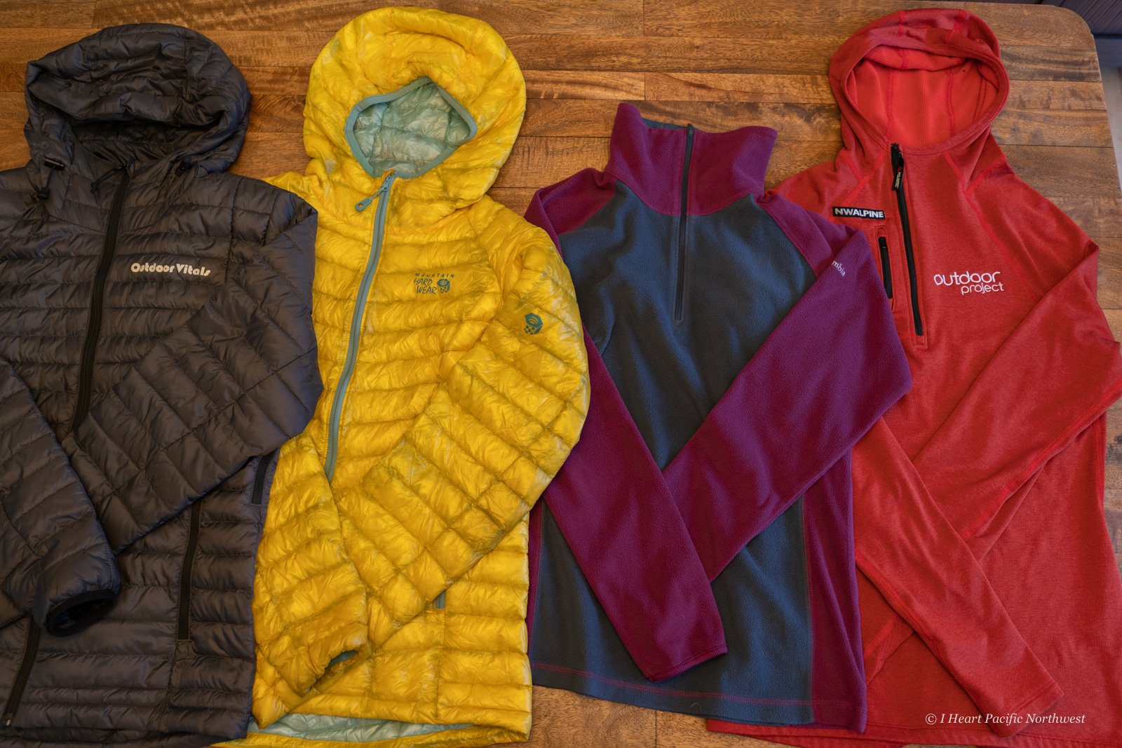 Layering clothing for hiking & backpacking