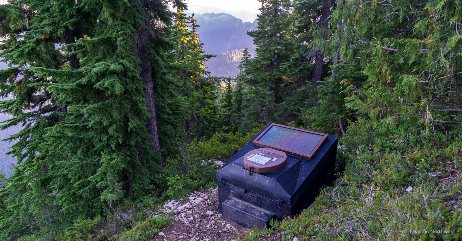 backcountry toilet