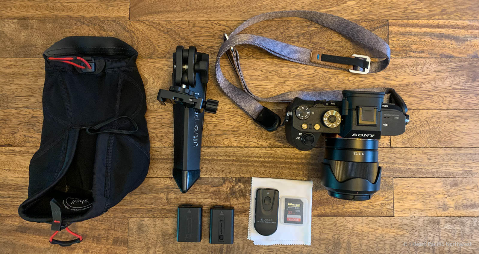 my hiking camera gear