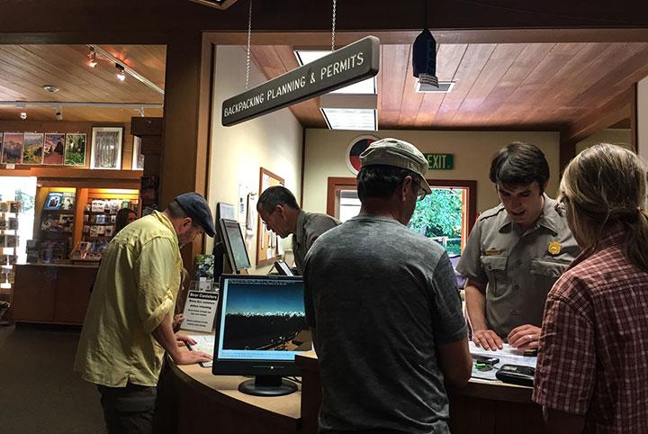 Ranger Stations in Oregon and Washington