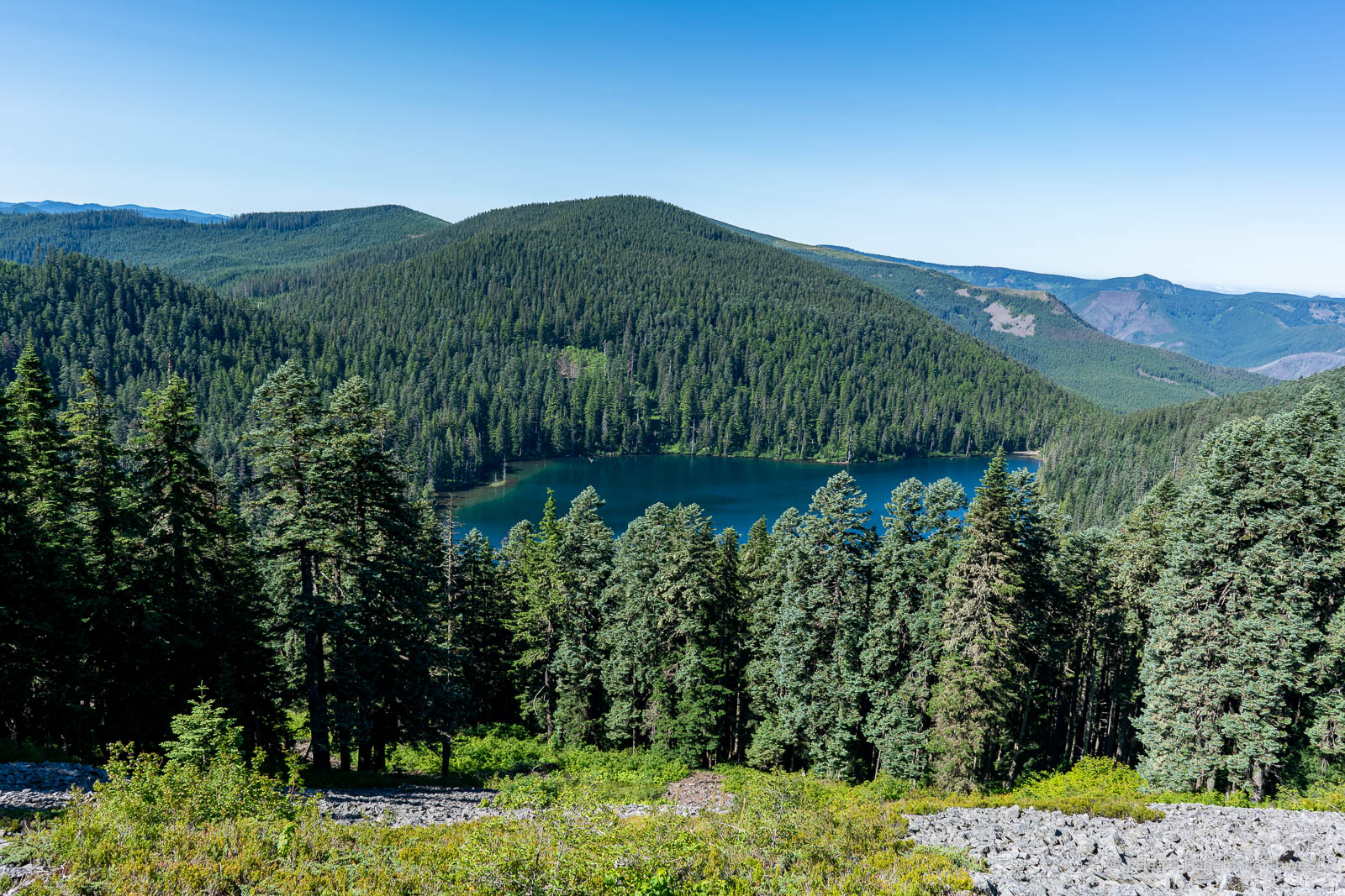 Wahtum Lake - Tomlike Mountain hike