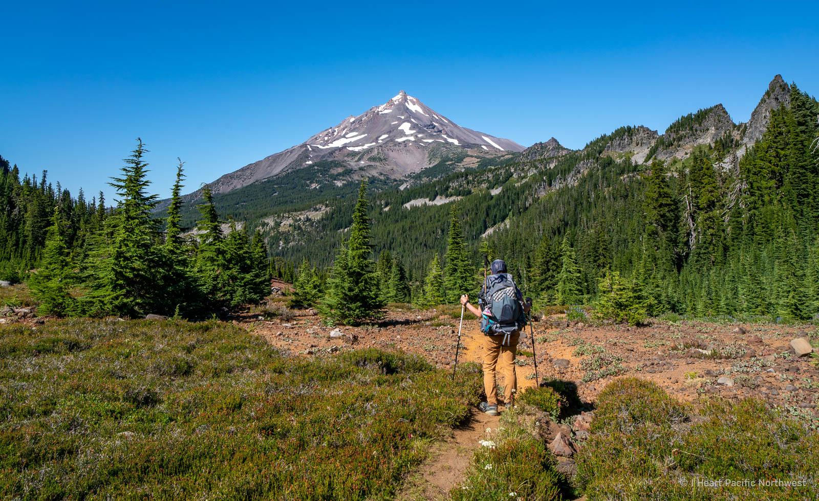 Mount Jefferson Wilderness - Hunts Cove backpacking trip