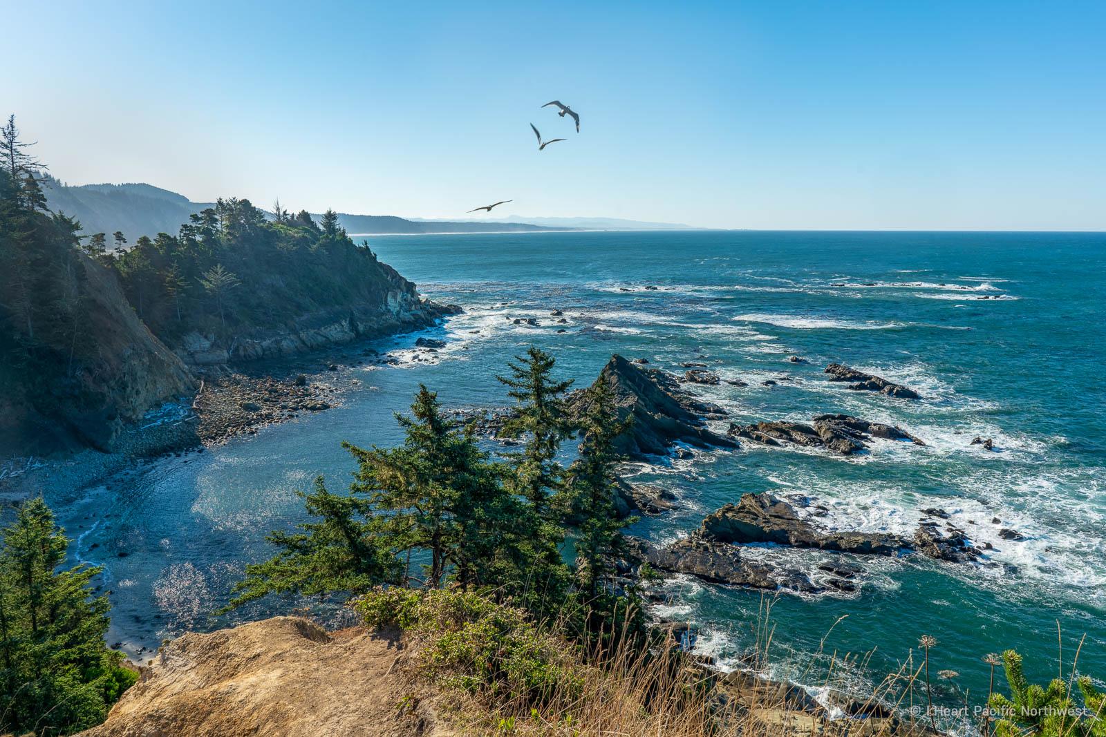 Oregon Coast - Sunset Bay camping trip