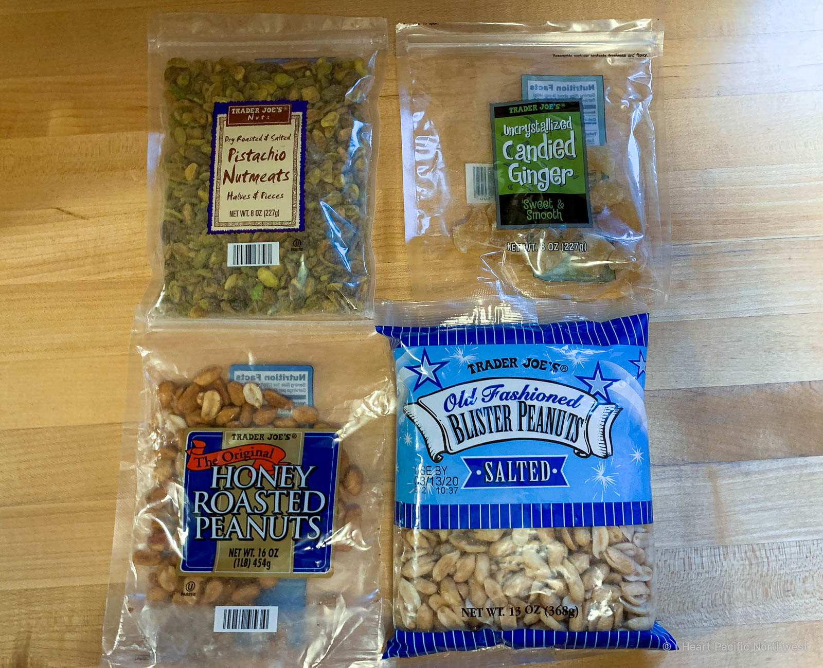 my favorite trail snacks for hiking