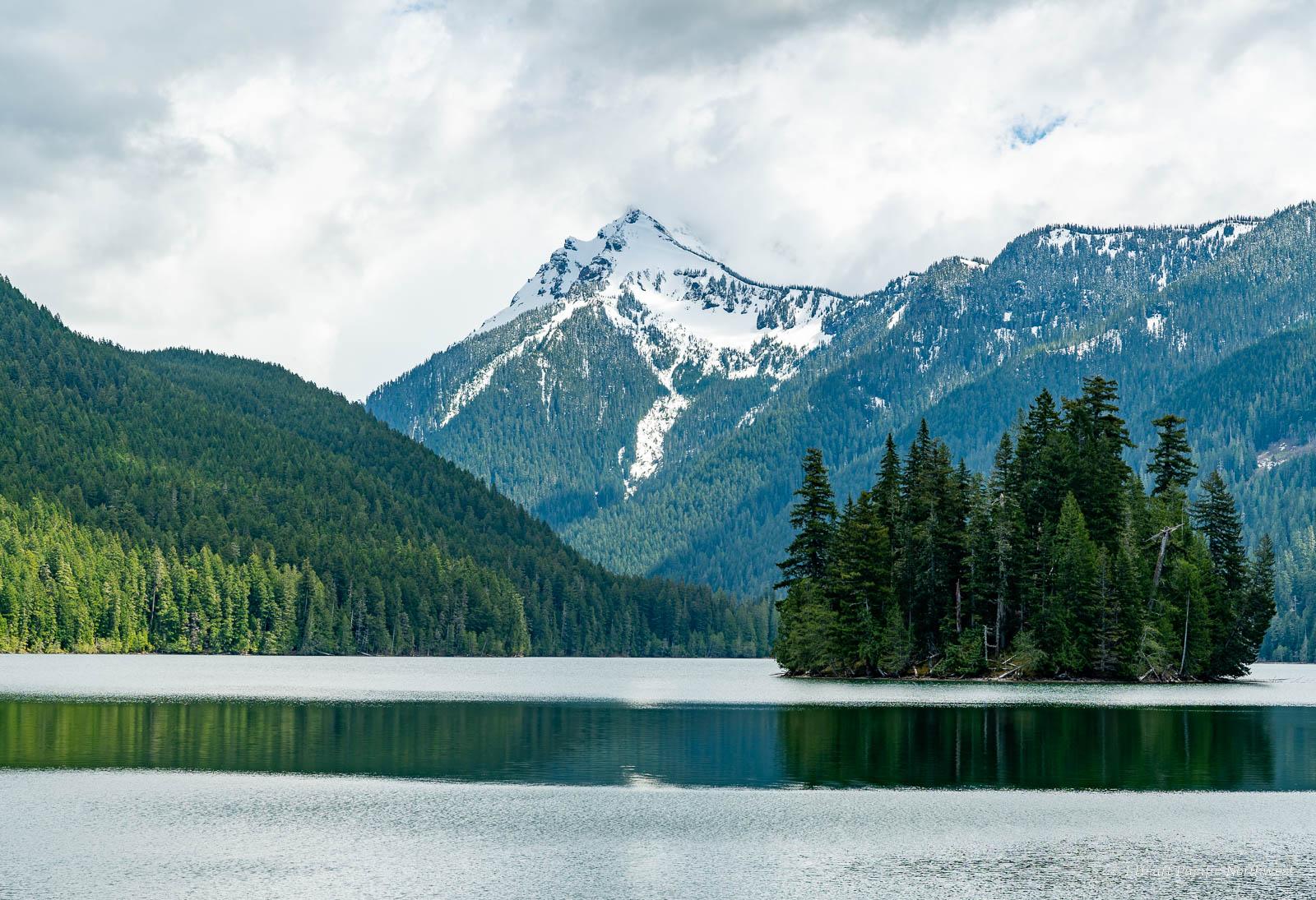 Packwood Lake backpacking trip