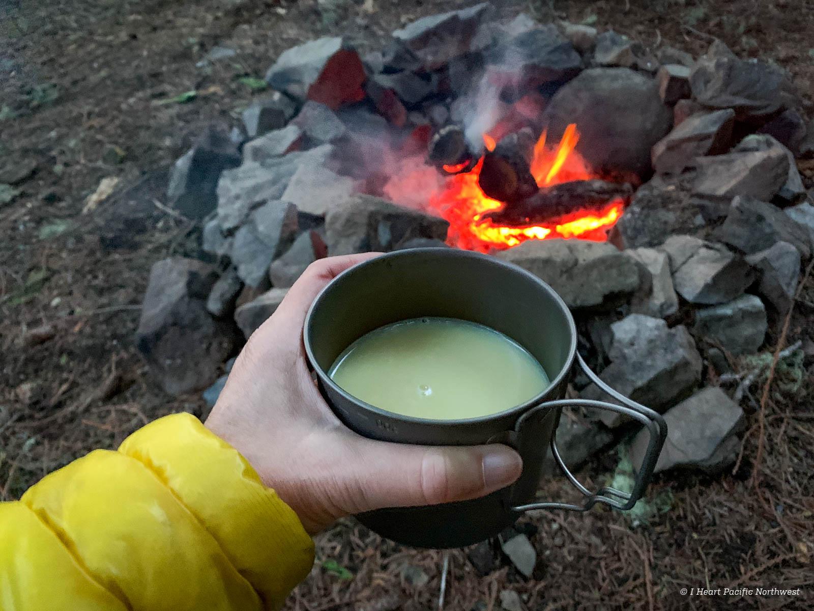 backpacking basics: campfires