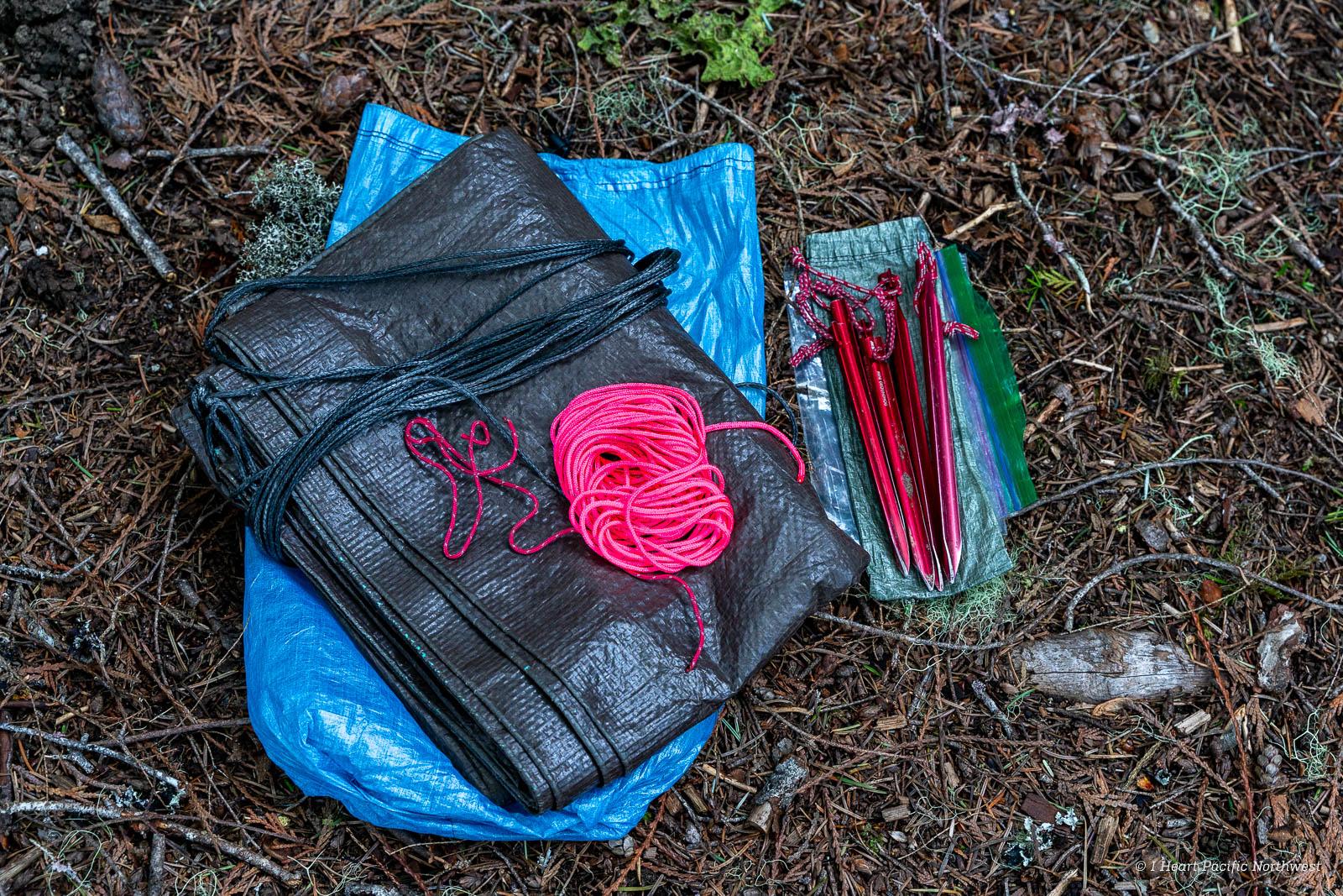 Tarp Setups for Backpacking Trips & Emergencies